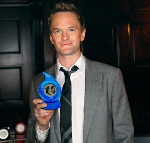 neil-patrick-harris-with-the-bedol-water-clock-with-alarm-copy6